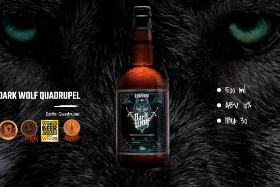 Cerveja Leuven Dark Wolf Quadrupel